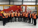 Visit to the Omega Sinto Foundry Machinery Ltd Headquarters in UK with the Executive of the WFO