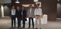 Work meeting and visit to the new headquarters and production facilities of the company INSERTEC S.A.