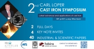 Registro al 2nd Carl Loper Cast Iron Symposium